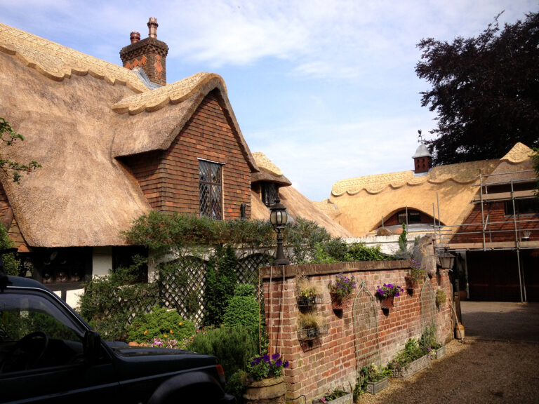 Stunning Thatched Roof by Craftwork Master Thatchers in Kent